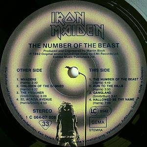 Iron Maiden: The Number Of The Beast (LP) - Bild 4