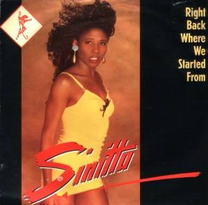 Sinitta: Right Back Where We Started From - Cover