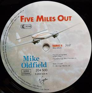 Mike Oldfield: Five Miles Out (LP) - Bild 5
