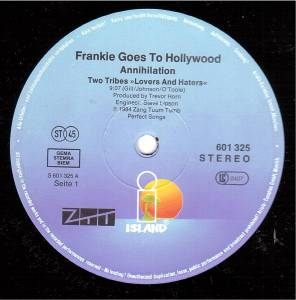 "Frankie Goes To Hollywood: Two Tribes (12"") - Bild 3"