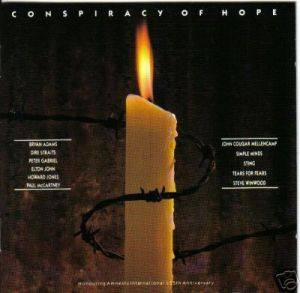 Conspiracy Of Hope - Cover