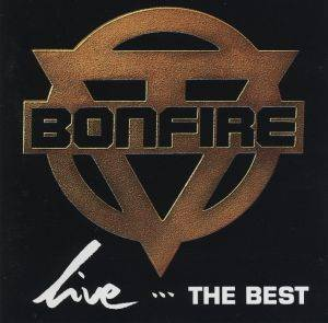 Bonfire: Live...The Best - Cover