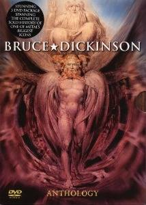 Bruce Dickinson: Anthology - Cover