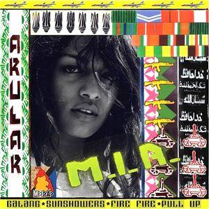 M.I.A.: Arular - Cover