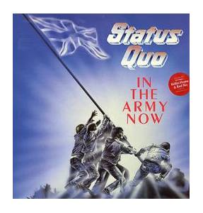 Status Quo: In The Army Now - Cover