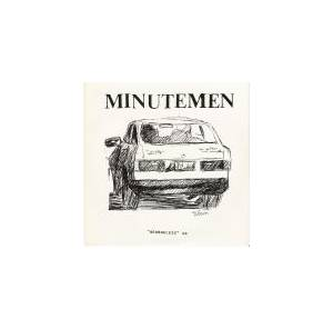Cover - Minutemen: Georgeless EP