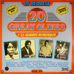 Cover - Joe Jeffrey Group: 20 Great Oldies I'll Always Remember Vol. 19