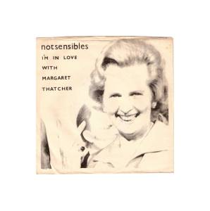 Cover - Notsensibles: I'm In Love With Magaret Thatcher