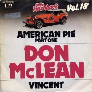 Don McLean: American Pie - Cover