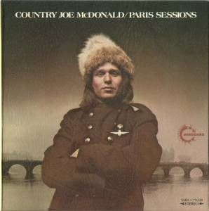 Cover - Country Joe McDonald: Paris Sessions