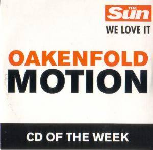 Cover - Oakenfold: Motion