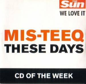 Cover - Mis-Teeq: These Days