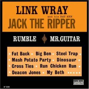 Cover - Link Wray & The Raymen: Jack The Ripper
