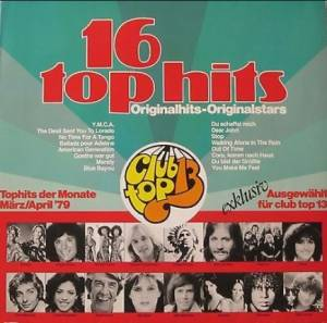 Club Top 13 - 16 Top Hits - März/April '79 - Cover