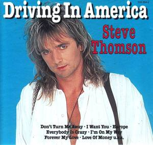 Cover - Steve Thomson: Driving In America