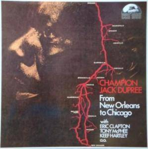 Champion Jack Dupree: From New Orleans To Chicago - Cover