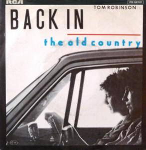 Tom Robinson: Back In The Old Country - Cover