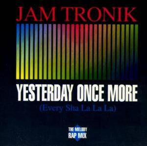 Cover - Jam Tronik: Yesterday Once More
