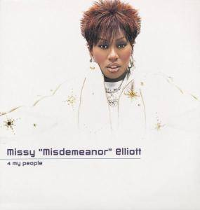 "Missy ""Misdemeanor"" Elliott: 4 My People - Cover"