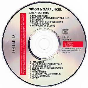 Simon & Garfunkel: Simon And Garfunkel's Greatest Hits (CD) - Bild 3