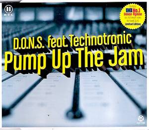 D.O.N.S. Feat. Technotronic: Pump Up The Jam - Cover
