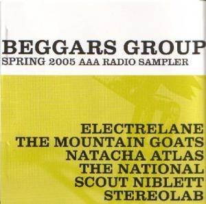 Cover - Electrelane: Beggars Group - Spring 2005 AAA Radio Sampler