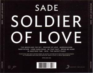 Sade: Soldier Of Love (CD) - Bild 3