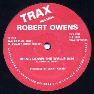 Cover - Robert Owens: Bring Down The Walls