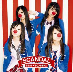 Scandal: Best★Scandal - Cover