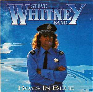Cover - Steve Whitney Band: Boys In Blue