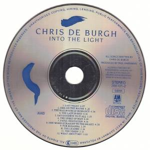 Chris de Burgh: Into The Light (CD) - Bild 4