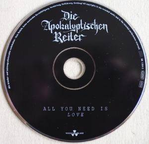 Die Apokalyptischen Reiter: All You Need Is Love (CD) - Bild 5