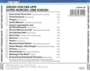 Guten Morgen Liebe Sorgen Cd 1987 Von Jürgen Von Der Lippe