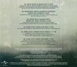Rammstein: Ohne Dich (Single-CD) - Bild 2