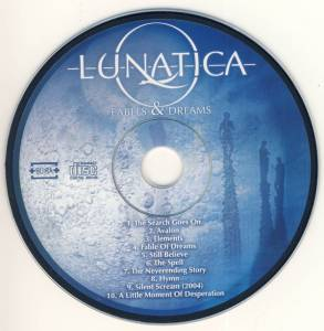 Lunatica: Fables & Dreams (CD) - Bild 2