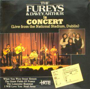 Cover - Fureys & Davey Arthur, The: In Concert