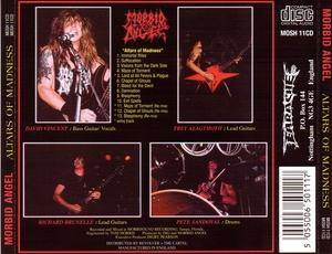 Morbid Angel: Altars Of Madness (CD) - Bild 3