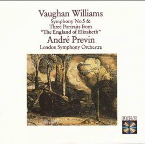 "Cover - Ralph Vaughan Williams: Symphony No. 5 In D/ Three Portraits From ""The England Of Elizabeth"""