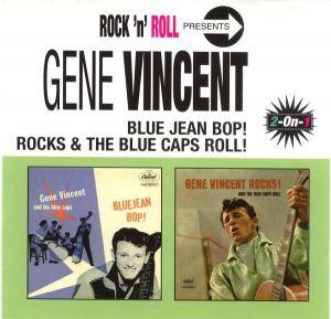Cover - Gene Vincent & His Blue Caps: Blue Jean Bop / Rocks & The Blue Caps Roll