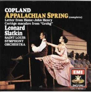 Cover - Aaron Copland: Appalachian Spring, Etc