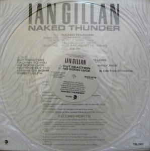 Cover - Ian Gillan: Gut Reaction