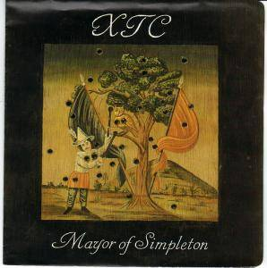 XTC: Mayor Of Simpleton - Cover