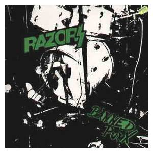 Cover - Razors: Banned Punx