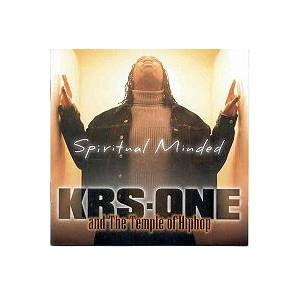 Cover - KRS-One: Spiritual Minded