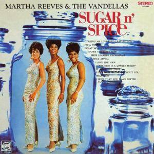 Cover - Martha Reeves & The Vandellas: Sugar N' Spice