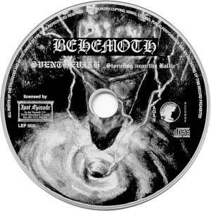 Behemoth: Sventevith (Storming Near The Baltic) (CD) - Bild 3