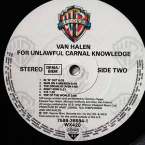 Van Halen: For Unlawful Carnal Knowledge (LP) - Bild 4