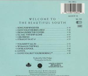 The Beautiful South: Welcome To The Beautiful South (CD) - Bild 3