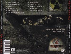 Arch Enemy: Doomsday Machine (CD) - Bild 4