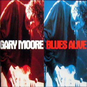 Gary Moore: Blues Alive - Cover